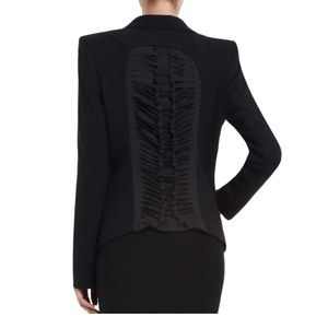 BCBGMAXAZARIA Black Blazer with Cut Outs in Small
